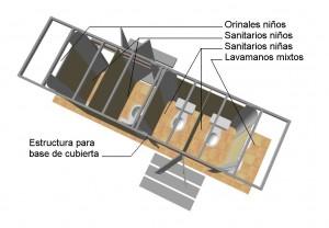 CABINA SANITARIA ESCOLAR